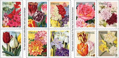 The Botanical Art Forever Stamps Featuring Ilrations From Nursery Catalogs In New York Garden S And Seed Catalog Collection