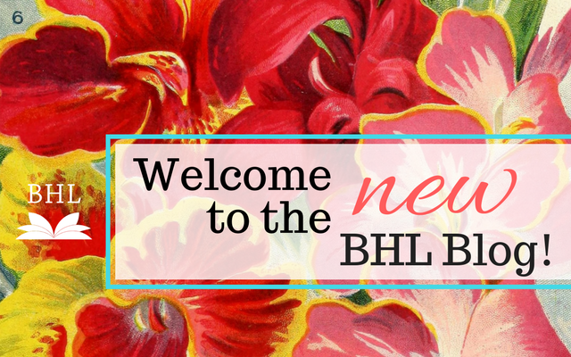 Introducing the New BHL Blog