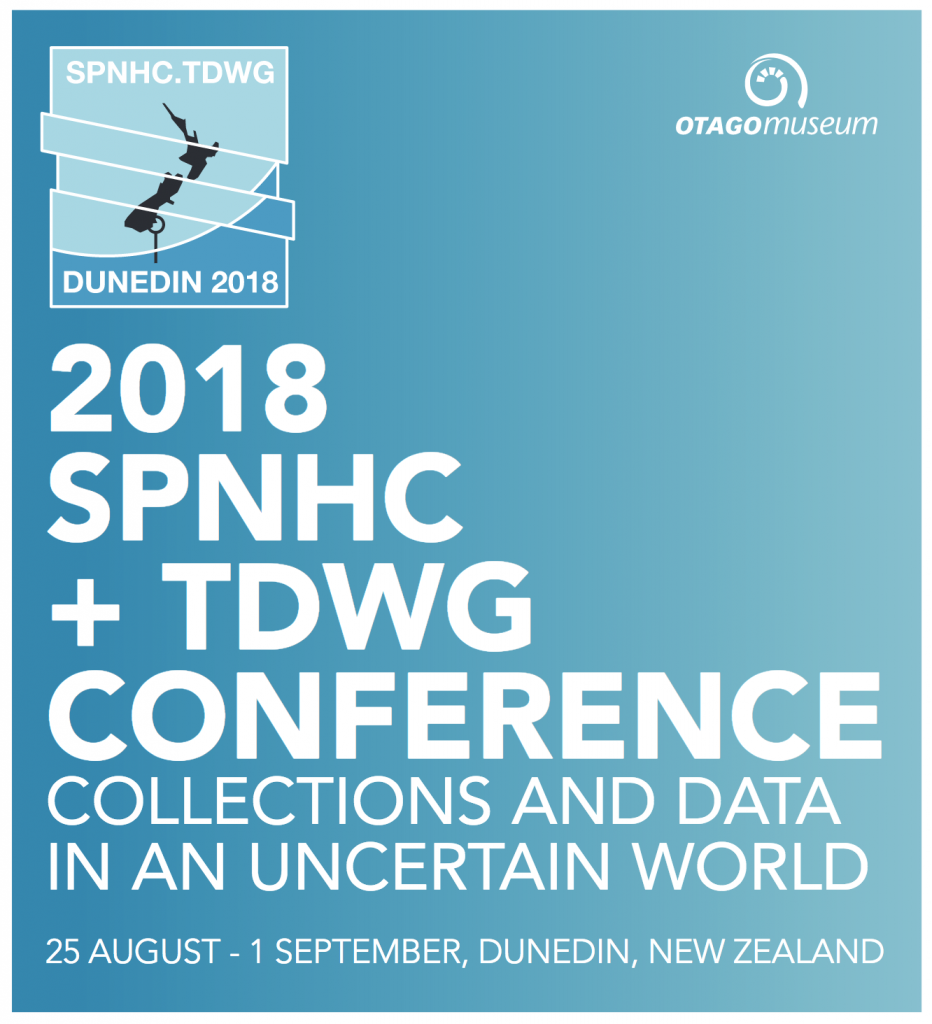 logo for the joint TDWG/SPNHC conference