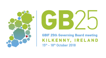GBIF 25th Annual Meeting logo