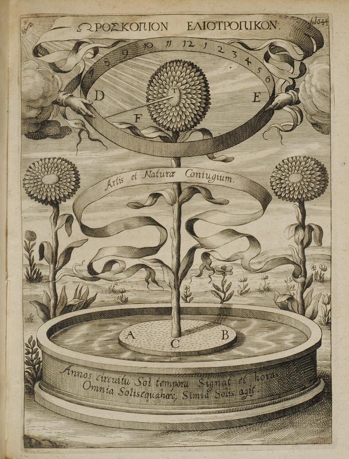 magnes sive de arte magnetica opus tripartum book sunflower clock.jpg