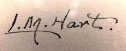 Lydia Hart signature