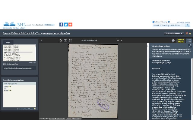 Crowdsourced Transcriptions in BHL