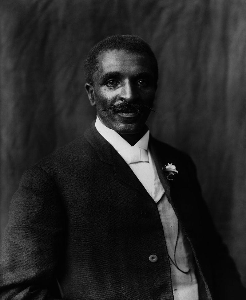 Photo of George Washington Carver by Frances Benjamin Johnston