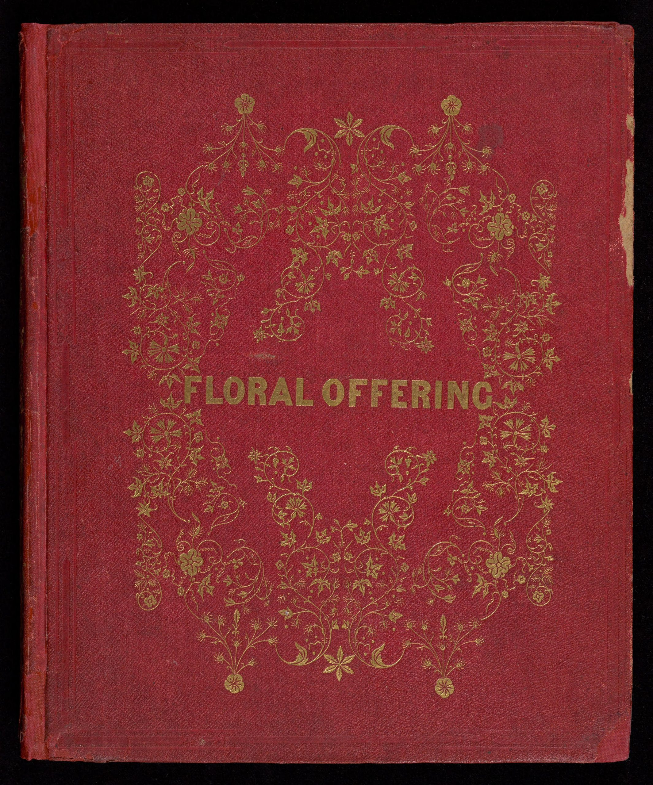 "Cover of the book ""The Floral Offering"""