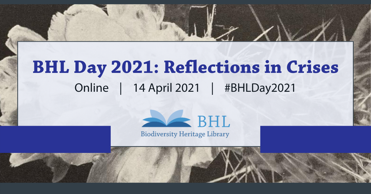 Graphic for BHL Day 2021.