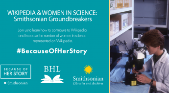 graphic for women in science wikipedia workshop